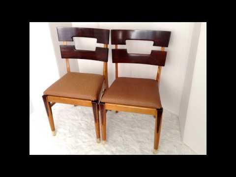 mid-century-furniture-4-less.com✰-✰-custom-design-service✰-✰-chocolate-drip-twin-chairs