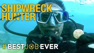 Shipwreck Hunter Unearths Lost History and Treasures: #bestjobever