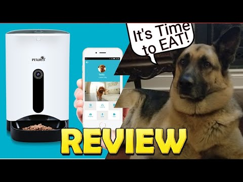 Automatic Pet Feeder by WOpet