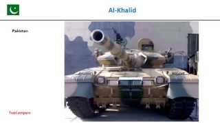 Al-Khalid & Main Battle Tank 3000, Tank specifications