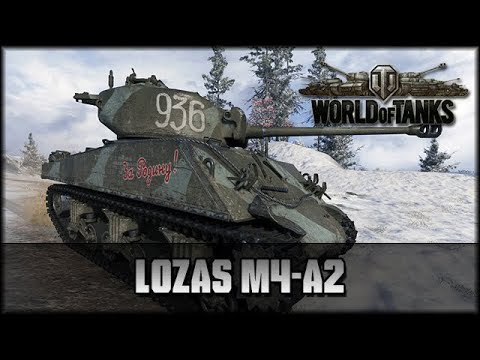 World of Tanks - Live: Lozas M4-A2 - Premium [ deutsch 🐄 gameplay ]