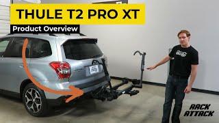 Thule T2 Pro XT Platform Hitch Mount Bike Rack Demonstration - 9034XT