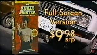 The Street Fighter Collection (VHS promo, 1996)