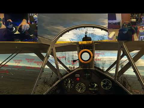 War Thunder - VR - Tank Vs. Planes |