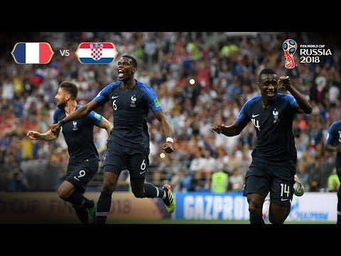 France Goal v Croatia - 2018 FIFA World Cup™ FINAL
