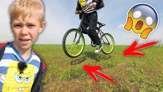 ТРЮКИ НА ВЕЛОСИПЕДЕ BMX Собрал Трамплин для Прыжков на Велике