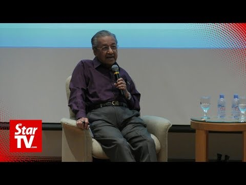 Dr Mahathir: My role models are…