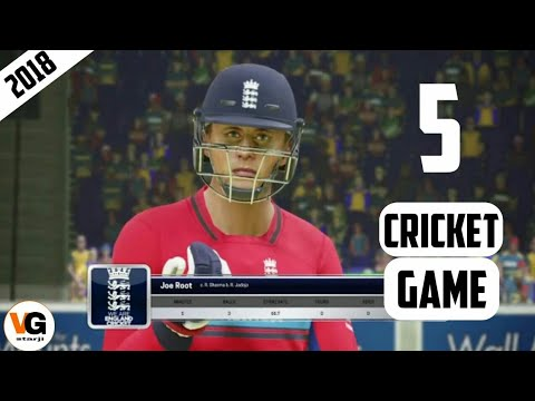 World's Best 5 Cricket Games|| नहीं खेला तो पछताओगे✌HD GRAPHICS AND BEST Commentary 👍of 2018