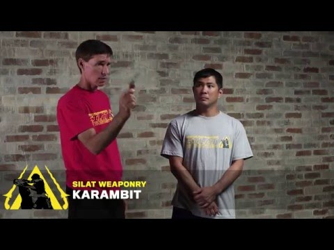 Burton Richardson's Silat for the Street — Karambit preview