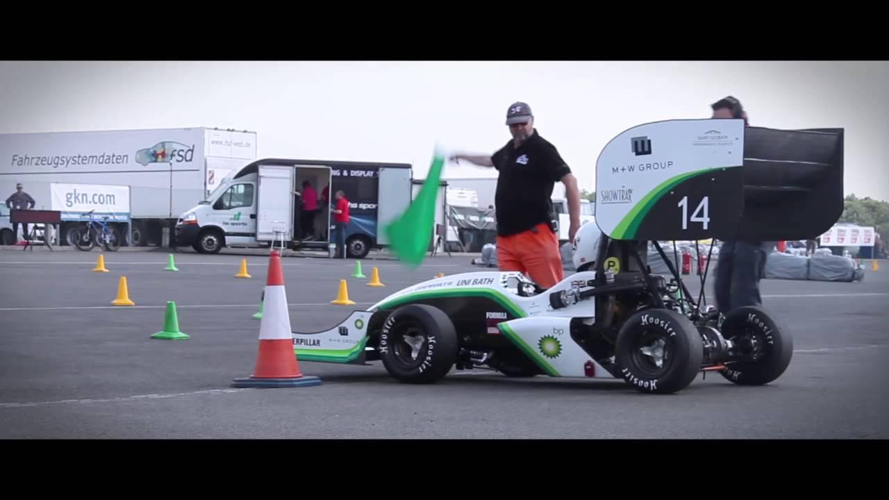 TBR14: Formula Student UK - Dynamic Events - YouTube