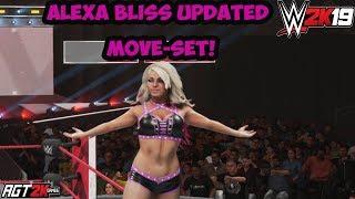 WWE 2K19 - Alexa Bliss Updated Moveset (PS4/Xbox One/PC) (Обновленный мувсет Блисс в WWE 2K19)