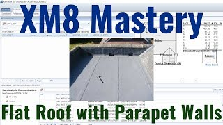 Flat Roof with Parapet Walls