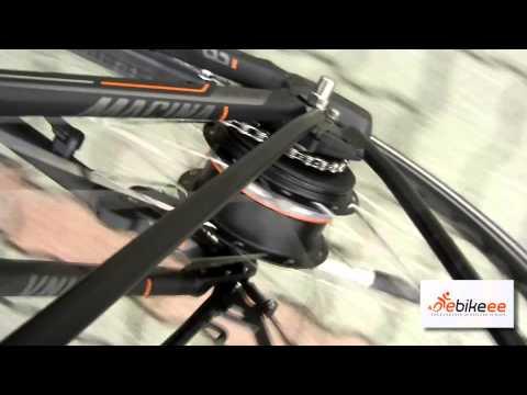 KTM NuVinci, elektromos kerékpár fokozatmentes automata váltóval