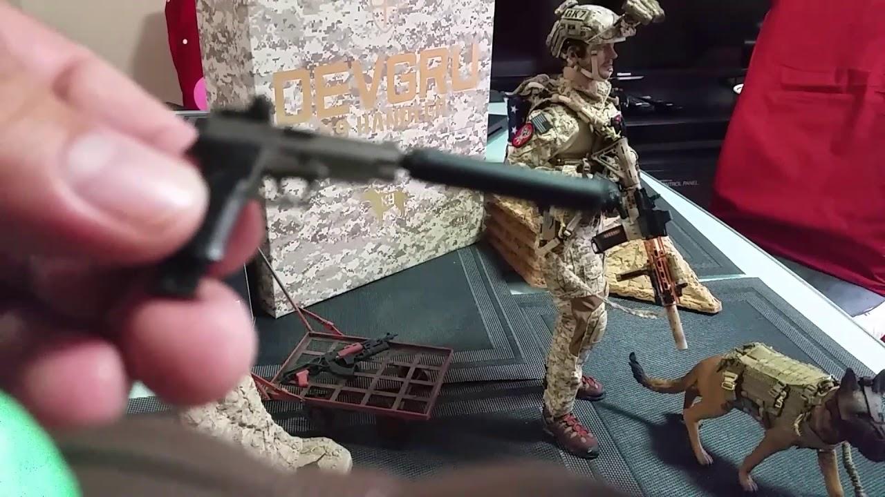 1//6 Scale DAMTOYS 78040 DEVGRU K9-handler in Afghanistan M320 Grenade Launcher