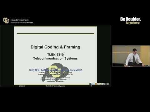 TLEN 5310 Telecommunications Systems - Sample Lecture