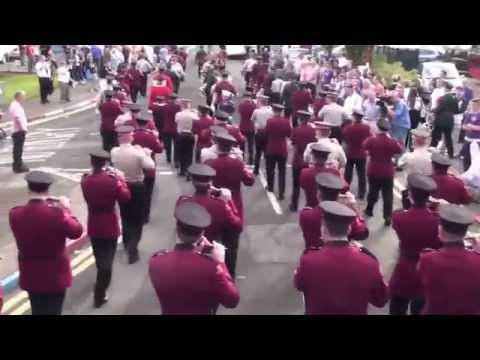 Massed Band (P2) @ Derry Day 2014