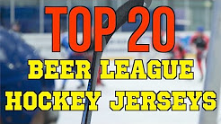 d7d869e58 Top 20 Beer League Hockey Jerseys  How to Look Good while waiting for the  NHL