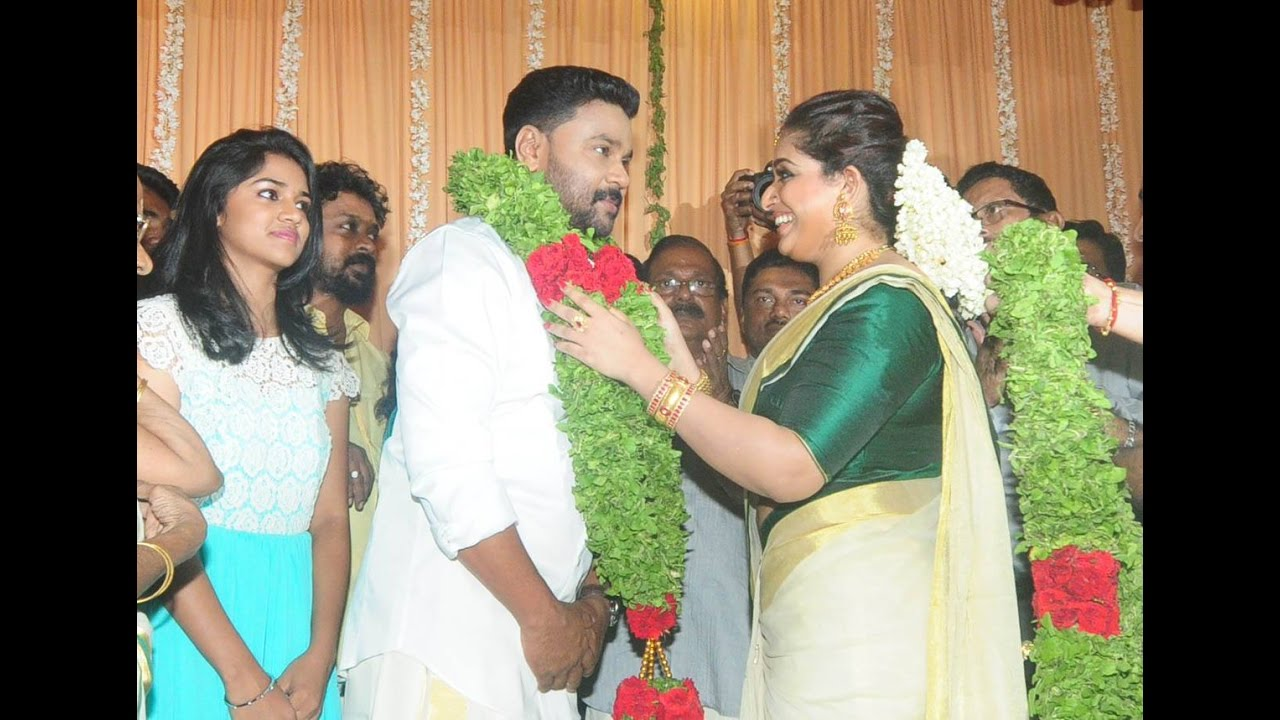 Actor Dileep And Kavya Madhavan Get Married Wedding Photos Tamil Cinema News