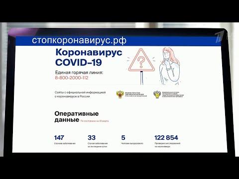 В Москве зафиксирован первый случай смерти от коронавируса.