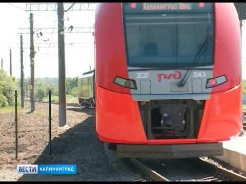 Калининградские «ласточки» за год перевезли около 3-х млн пассажиров