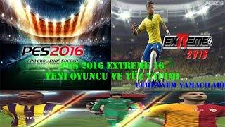 PES 2016 EXTREME 16 OYUNCU YAPIMI
