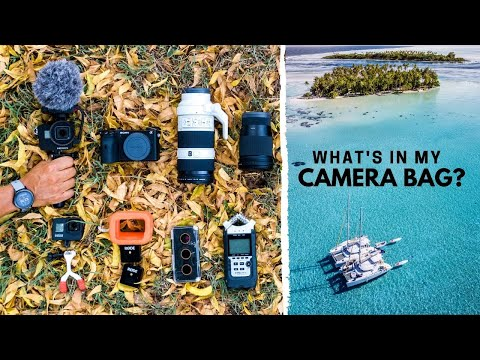 The Camera GearI Use For YouTube & Travel Videos!