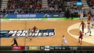 Purdue Out of Half vs Iowa State