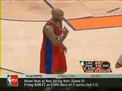 Sam Cassell Funny Incident At Free Throw Line