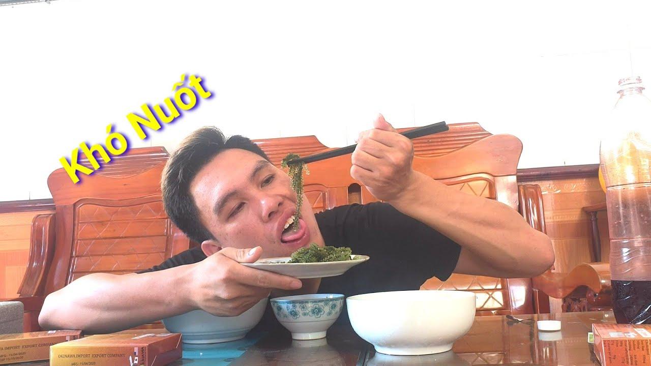 Lần Đầu Tiên Ăn Món Rong Nho Cảm Giác Khó Tả - ĐTV Vlogs98