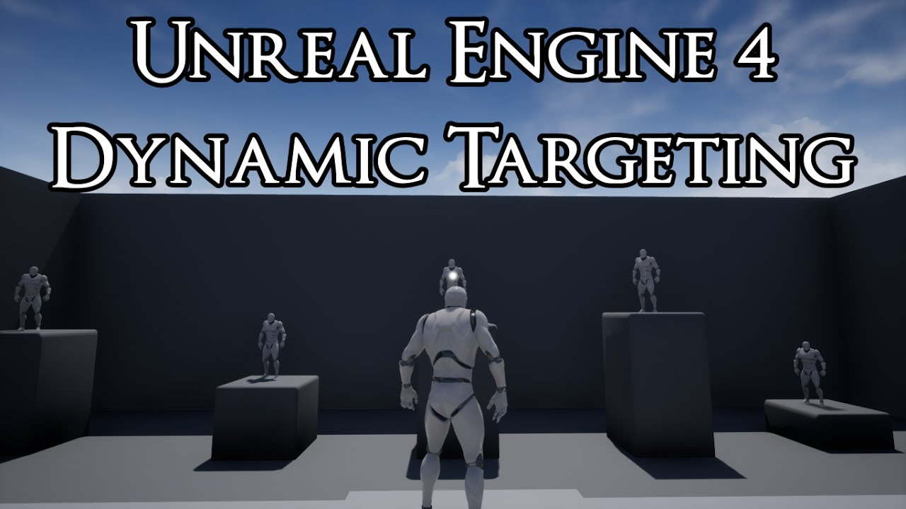 UE4 - How to setup Dynamic Targeting System