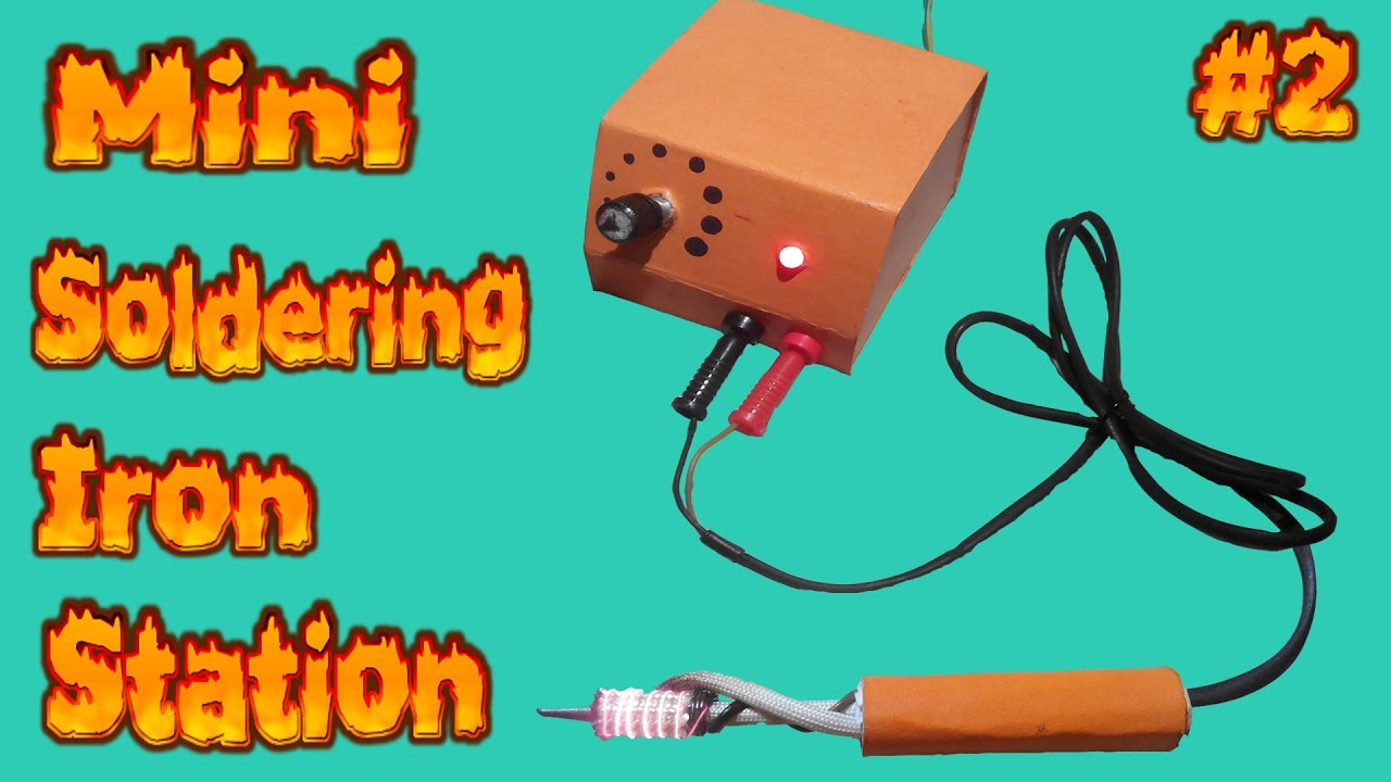 how to make pwm controller mini soldering iron station temperature control part 2 pwm controller  [ 1280 x 720 Pixel ]