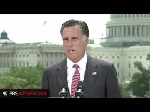 """Watch Full Romney Response to Health Care Ruling: """"I Will Act to Repeal Obamacare"""""""