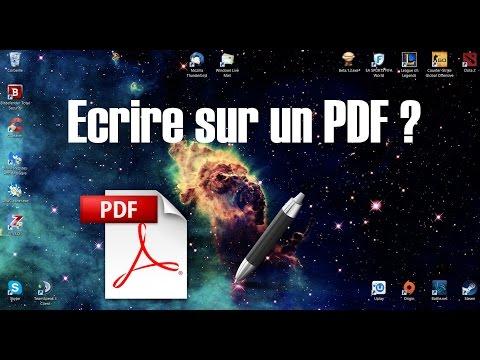 [Tuto] Ecrire sur un fichier PDF