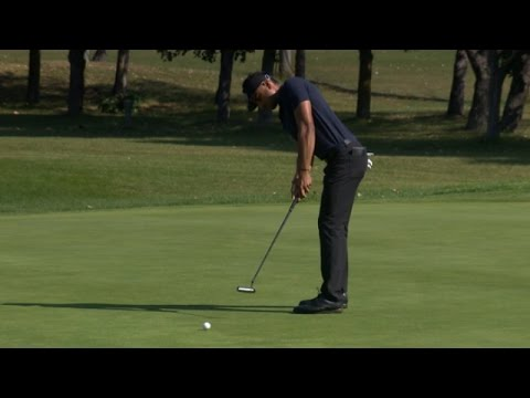 Highlights | Manav Shah leads the way after hot round at the National Capital Open