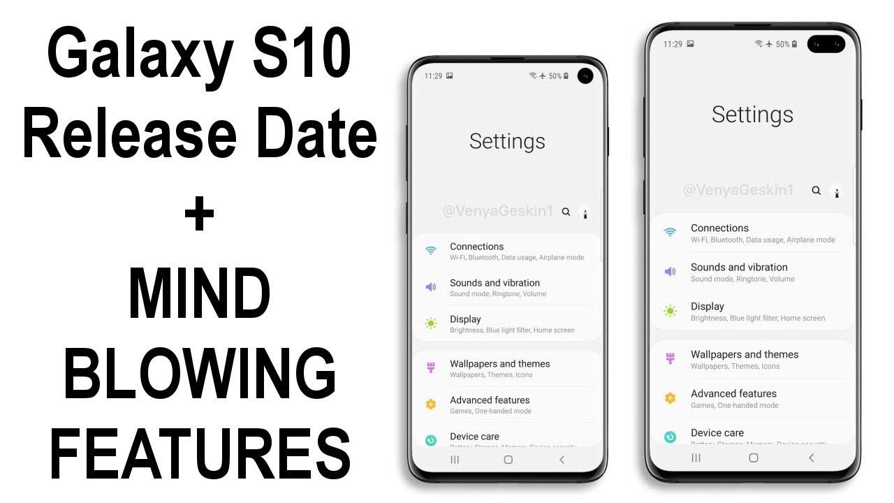 Samsung S10 Release