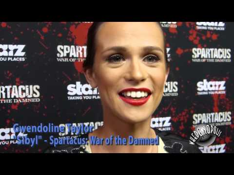 Whedonopolis at Spartacus Premiere  Gwendoline Taylor  Sibyl