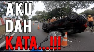 #28: Aku Dah Kata..!!! || Honda Future 125 || Motovlog Malaysia