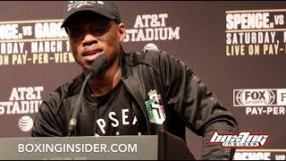 ERROL SPENCE JR VS MIKEY GARCIA FULL POST-FIGHT PRESS CONFERENCE