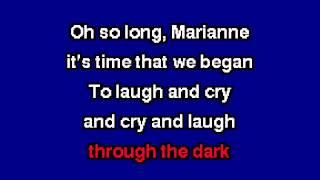 ggnzla KARAOKE 131, Leonard Cohen - SO LONG MARIANNE