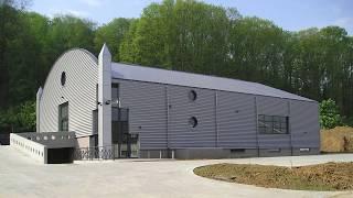 Crown 1 - Construction d'un immeuble industriel et commercial à Wavre.