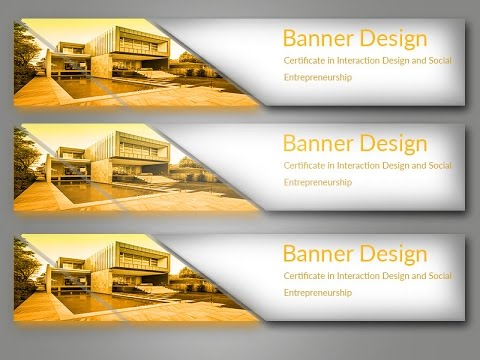 how to create banner in photoshop 7