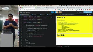 React Inline Styling with JSS - Talk.JS + Talk.CSS = JSConf.Asia Special!