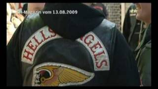 Bandidos beats& stab down Hells Angels on Highway