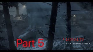 Until Dawn Pt.5 Gameplay: The Killer Strikes?!?
