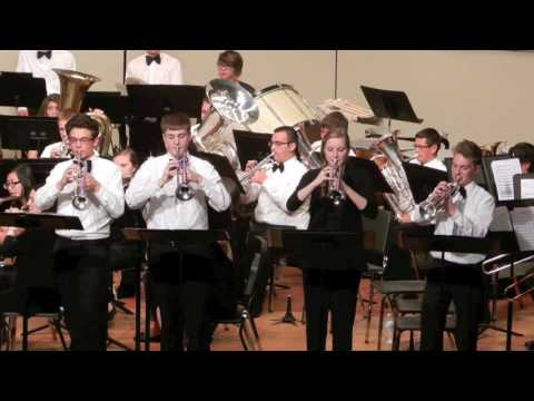 Bugler's Holiday - Streator Township High School Concert Band 2016