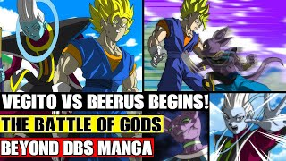 Beyond Dragon Ball Super: Vegito Vs Beerus Finale! Ultimate Vegito Defeats Beerus?!