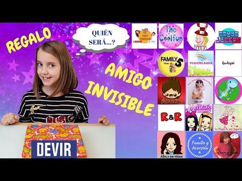 REGALO AMIGO INVISIBLE CON CANALES AMIGOS, en colaboración con DEVIR * Las Cosas de Lucía