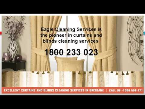 Perform Curtain Blind Cleaning
