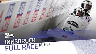 Innsbruck | BMW IBSF World Cup 2017/2018 - 2-Man Bobsleigh Heat 1 | IBSF Official