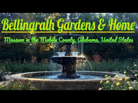 Visiting Bellingrath Gardens and Home, Museum in the Mobile County, Alabama, United States